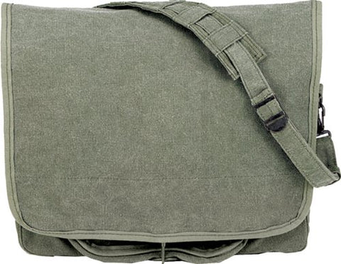 Rothco Classic Paratrooper Bag (Sage)
