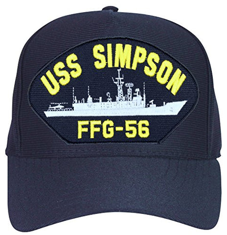 USS Simpson FFG-56 Ship Cap