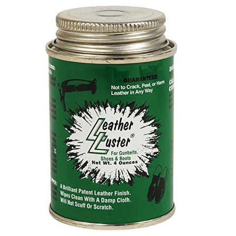 Leather Luster Polish Gloss Shoe Shine W/applicator 4oz