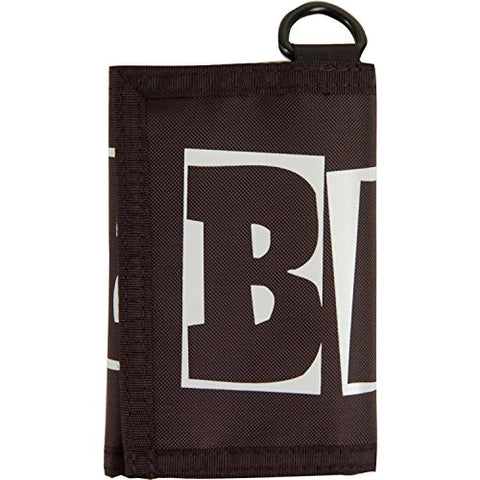 Baker Skateboards Logo Tri Fold Black Wallet