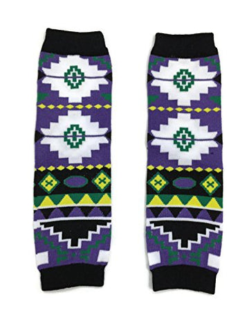 KWC - American Indian Tribal Baby Toddler Leg Warmer (Sky Band)