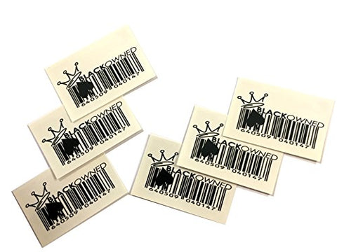 5x Sexy   BLACK OWNED   BARCODE Queen of Spades Temporary Tattoos - Hotwife - BBC - Cuckold - Swinger - Cuckoldress. - Slut