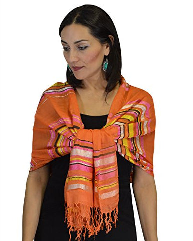 Moroccan Shoulder Shawl Breathable Oblong Head Scarf Silky Soft Exquisite Wrap