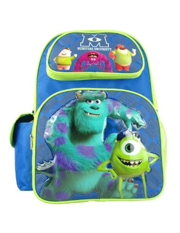 Monster University - Large 16' Backpack - Scare School