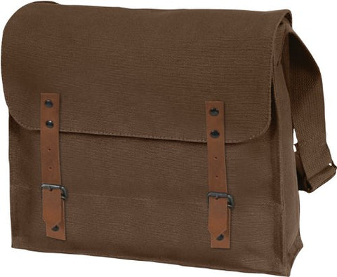 Vintage Shoulder Medic Bag (Brown, Plain)