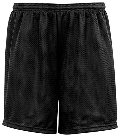 C2 Sport 5209 Youth Mesh Short - Black, Large