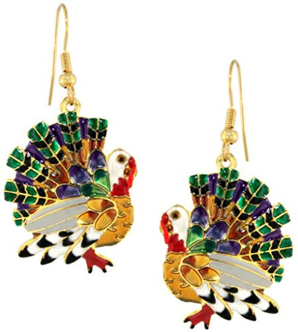 Lunch at The Ritz 2GO Turkey Earrings