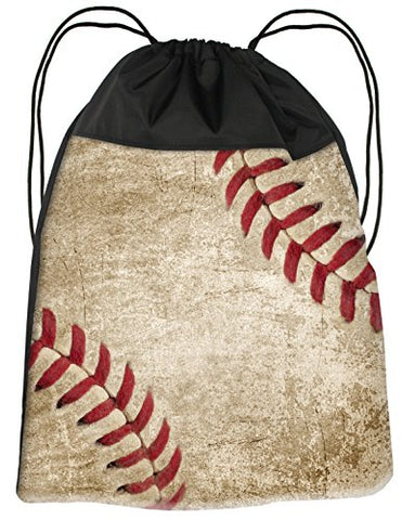 Snaptotes Baseball Fan Sport Drawstring Bag