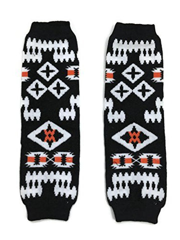 KWC - American Indian Tribal Baby Toddler Leg Warmer (Enclose Ceremonial Dances)