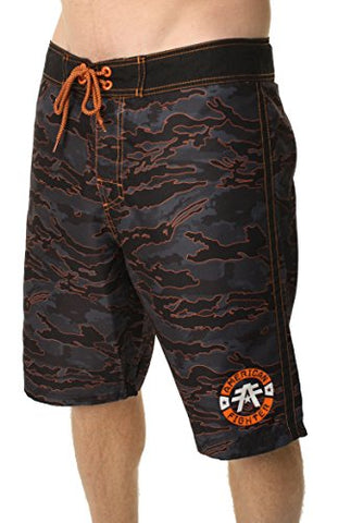 Affliction MENS AMERICAN FIGHTER North Creek Board Shorts (34)
