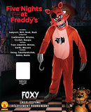 Five Nights Child's Value-Priced  at Freddy's Foxy Costume, Medium