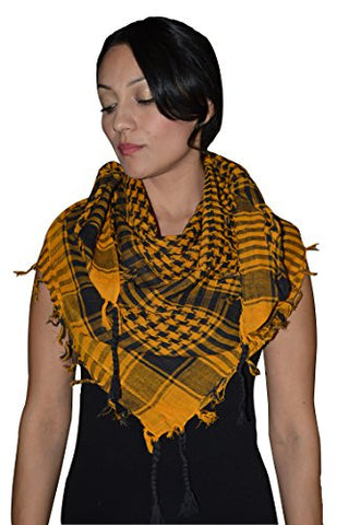 Shemagh Scarf Shawl Arab Fashion Scarf Purple Freedom Head Cover Orange