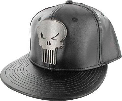 Punisher Metal Logo Snap Hat