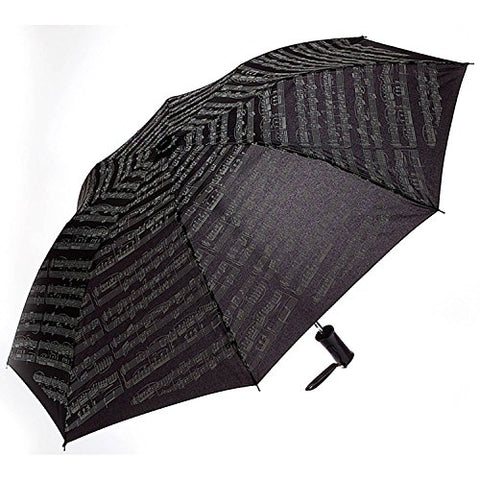 Music Score Print Umbrella