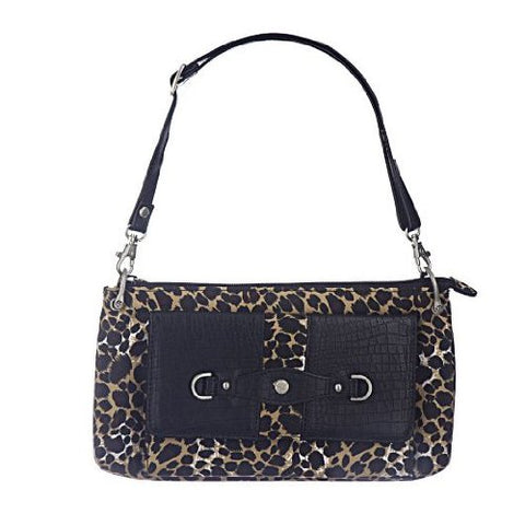 Travelon Microfiber Mini Shoulder Bag - Leopard