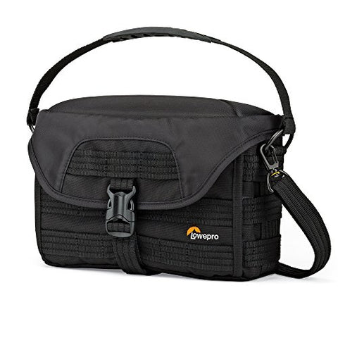 Lowepro Pro Tactic SH 120 AW. Compact Shoulder Camera Bag for Mirrorless Cameras.