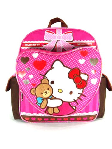 Small Backpack - Hello Kitty - Hello Kitty - Teddy Bear New School Bag 630324