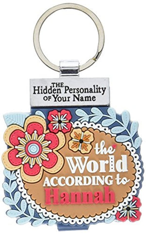 World According to Keyring Book Hannah Key Chain (1840173)