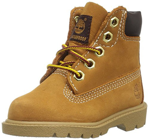 Timberland Baby 6 in Classic Boot, Wheat, 5 Wide US Toddler