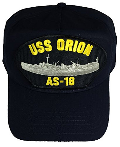 USS ORION AS-18 HAT - NAVY BLUE - Veteran Owned Business