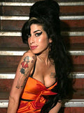 Amy Winehouse Tattoo and Wig Set