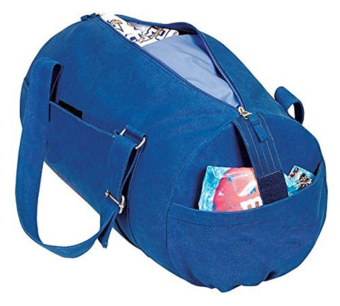Yens Fantasybag Canvas Trendy Sprot Travel Bag-Denim Blue, SB-8340