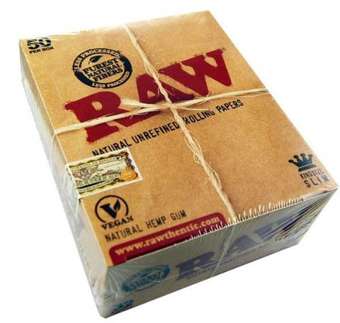 Paper Raw King Size Hemp 50Pcs