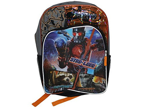 Marvel Guardians of the Galaxy Movie Backpack grey and orange