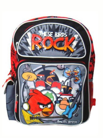 Angry Birds These Birds Rock 12  Toddler Backpack