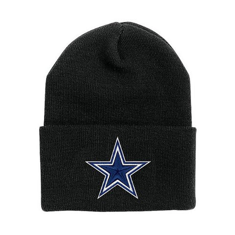 Dallas Cowboys Basic Knit Hat Black