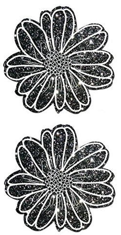 Black and White Daisy Pasties
