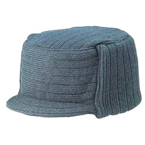 Charcoal Winter Flat Top Jeep Cap Hat