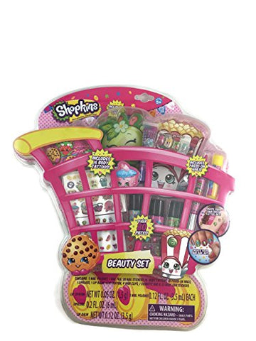 Shopkins Beauty Set - Over 80 pieces included