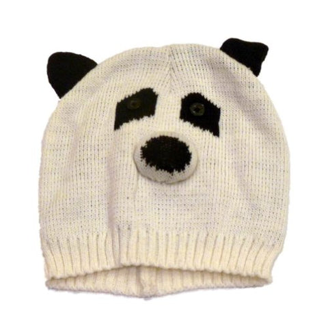 Mambo Hat Womens Knit Panda Beanie Winter Stocking Cap