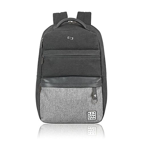 Solo Urban Code 15.6  Laptop Backpack, Black/Grey