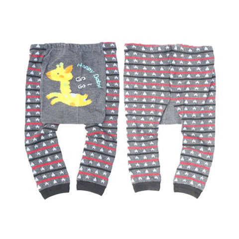 Wrapables Baby /& Toddler Leggings Owl and Stripes 24 to 36 Months