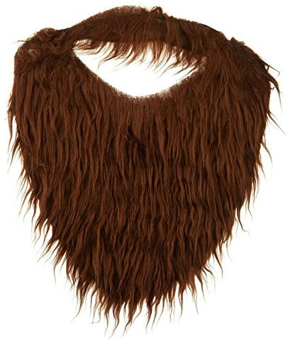 Fake Beard and Mustache -Brown