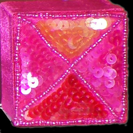 Passionate Fushia Sequin Treasure Box