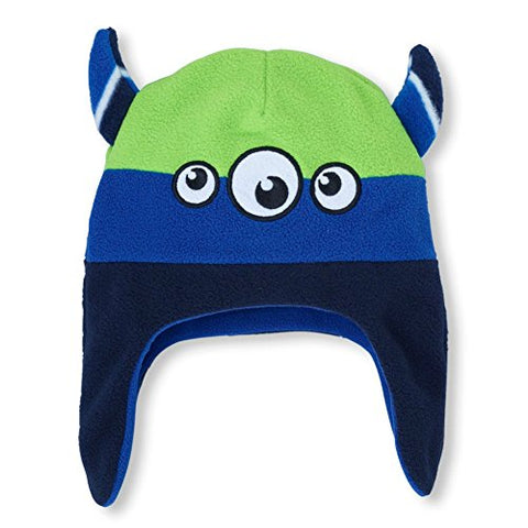 Boys 3-Eyed Monster Microfleece Hat (12 - 24 month)