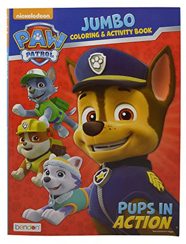 Nickelodeon Paw Patrol 4pc Gift Set Of Sling Bag Coloring Book Stickers Sheet Crayons