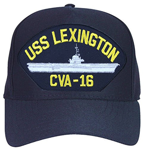 USS Lexington CVA-16 Ships Ball Cap