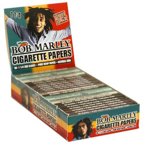 Bob Marley Rolling Paper 1.25 25ct