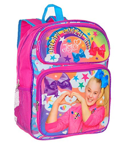 16  Jojo Siwa Backpack Dream Crazy Big
