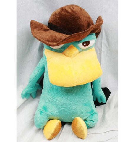 Phineas and Ferb Agent P Plush Backpack