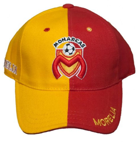 NEW!! Club Atltico Monarcas Morelia - Adjustable Back Hat 3D Embroidered Cap