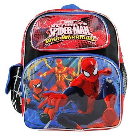 Marvel Ultimate Spider-Man Web Warriors Boys 12  School Small Backpack Bag