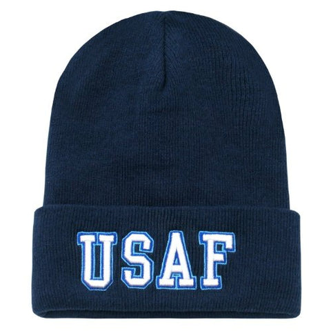 US United States Air Force Official Seal Design Beanie Cap Hat
