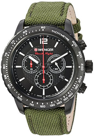 Green Nylon Strap, PVD
