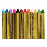 12 Vibrant Professional Face Painting Crayons, Safe and Non Toxic