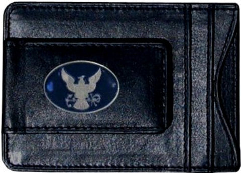 US Navy Fine Leather Money Clip Wallet